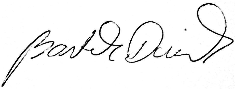 Podpis BArtka