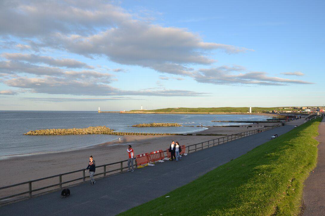 Wybrzeże w Aberdeen