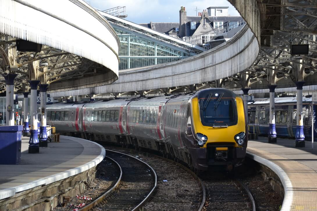 Pociąg w Aberdeen