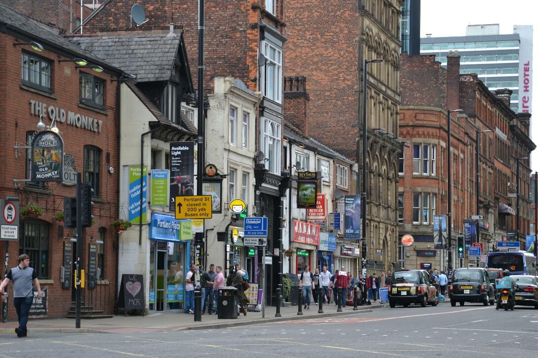 Zabudowa Manchester