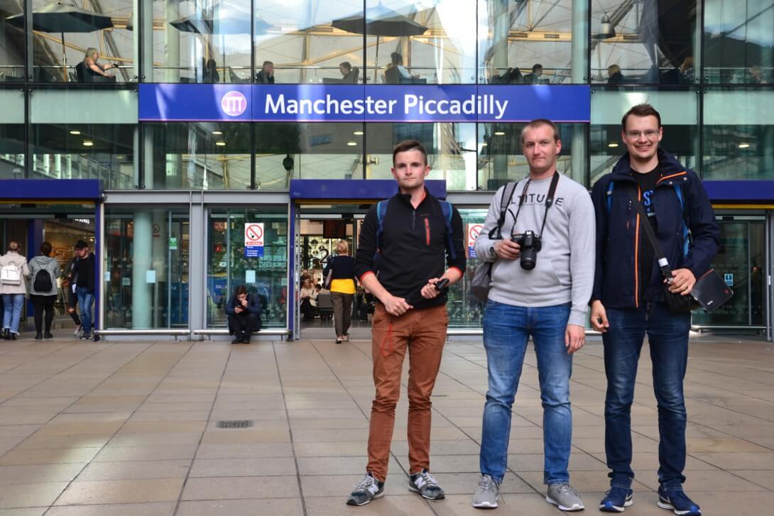 Dworzec kolejowy Manchester Piccadilly