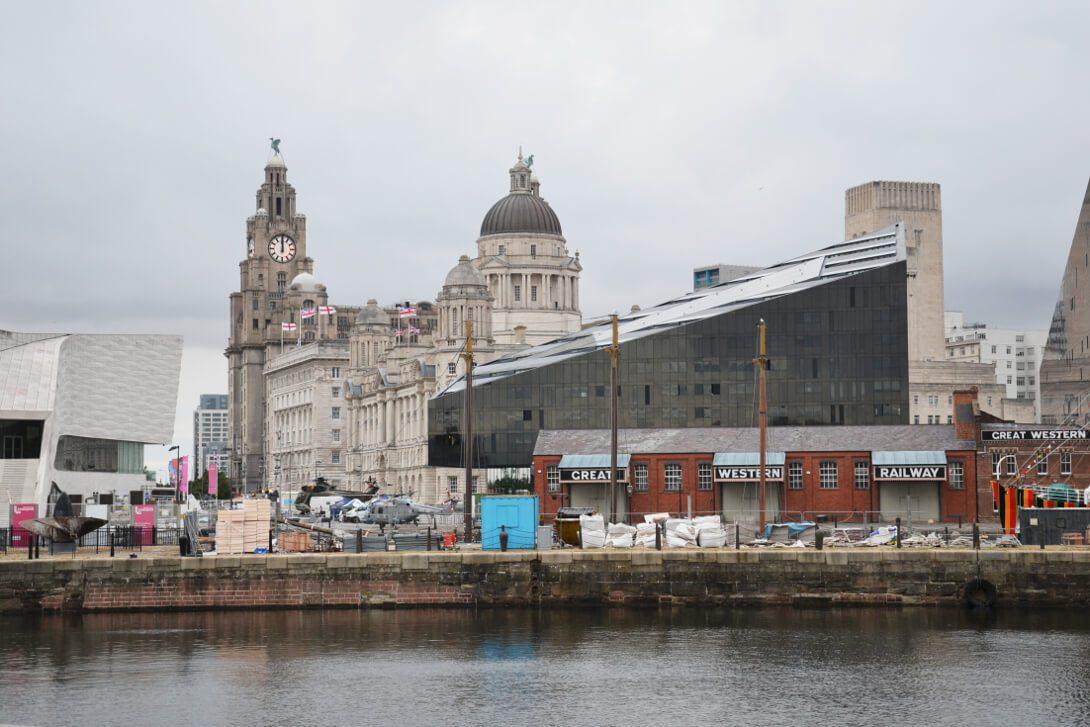 Wybrzeże w Liverpool