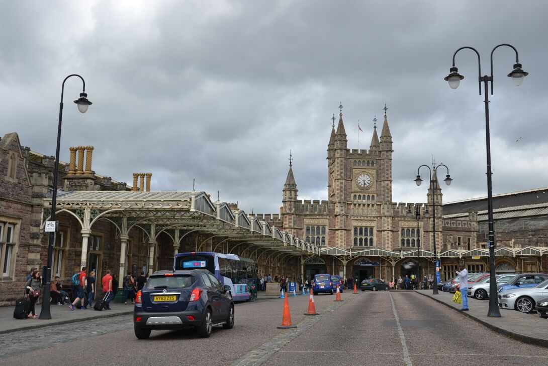 Dworzec w Bristolu