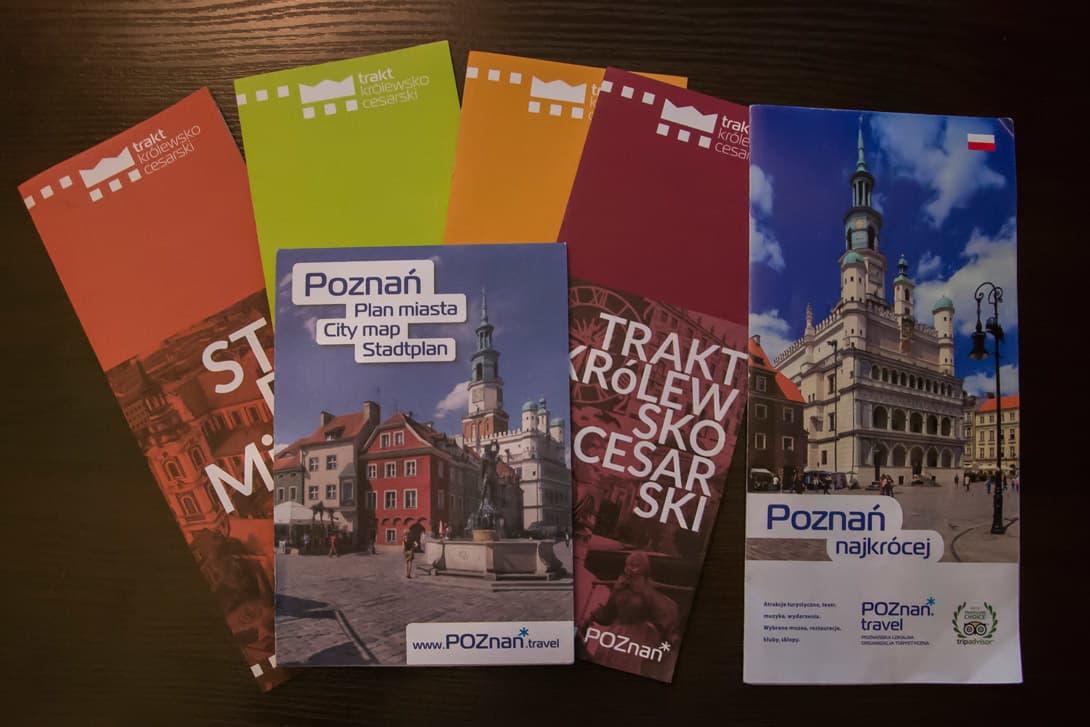 Broszury informacyjne Poznania