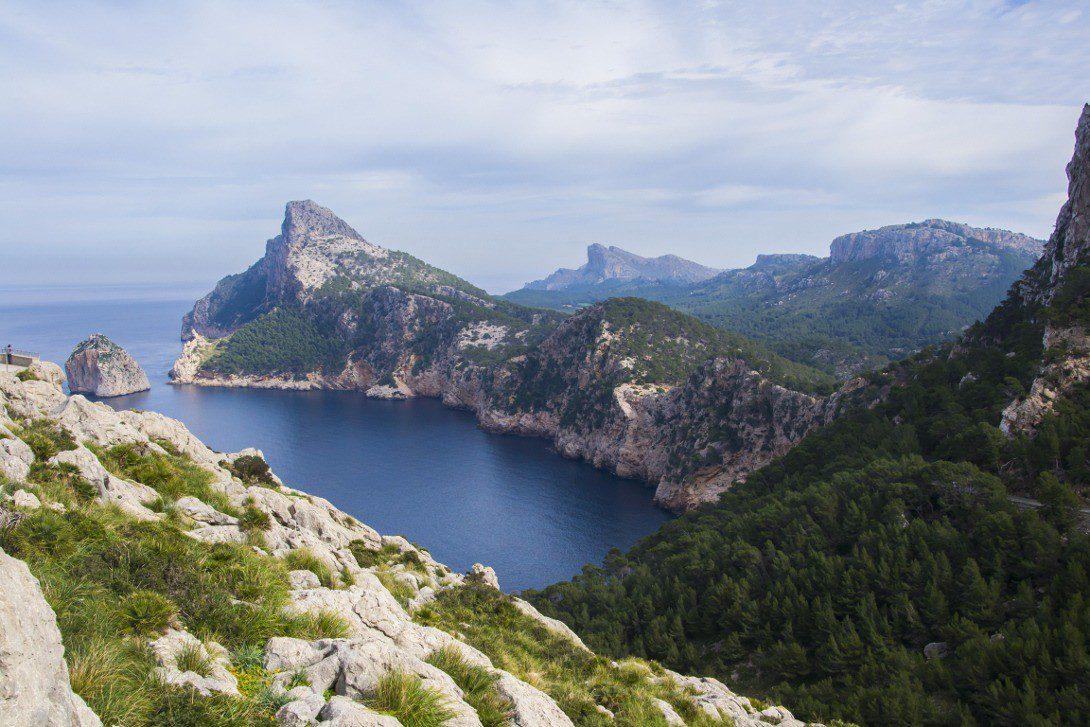 Jeden z punktów widokowych na Cap de Formentor.
