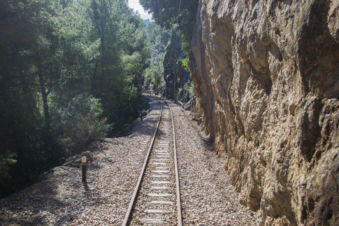 Tory kolejowe na Majorce