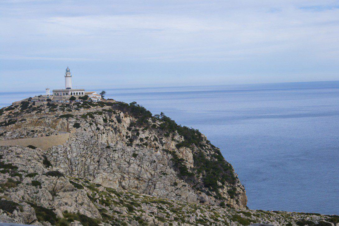 Widok na Cap de Formentor