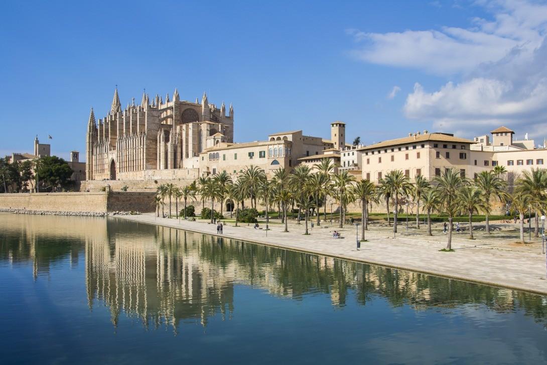 Katedra w Palma de Mallorca.