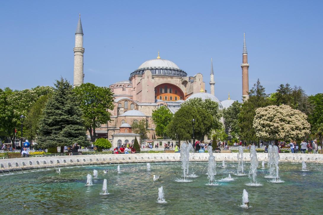 Hagia Sophia w Stambule.