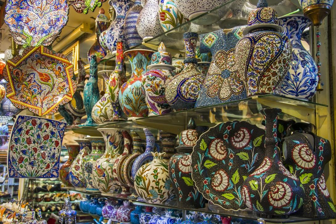 Wielki Bazar w Stambule.