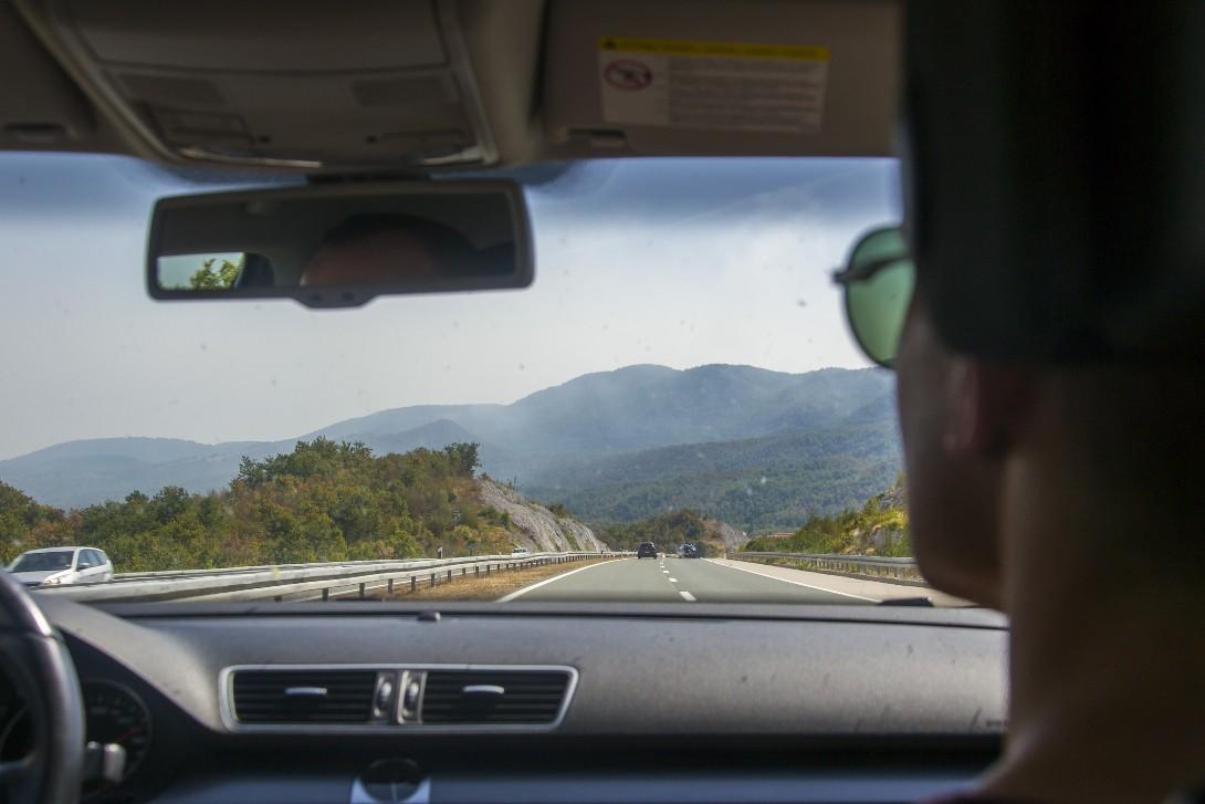 Trasa do Albanii okiem autostopowicza podczas podróży autostopem do Albanii