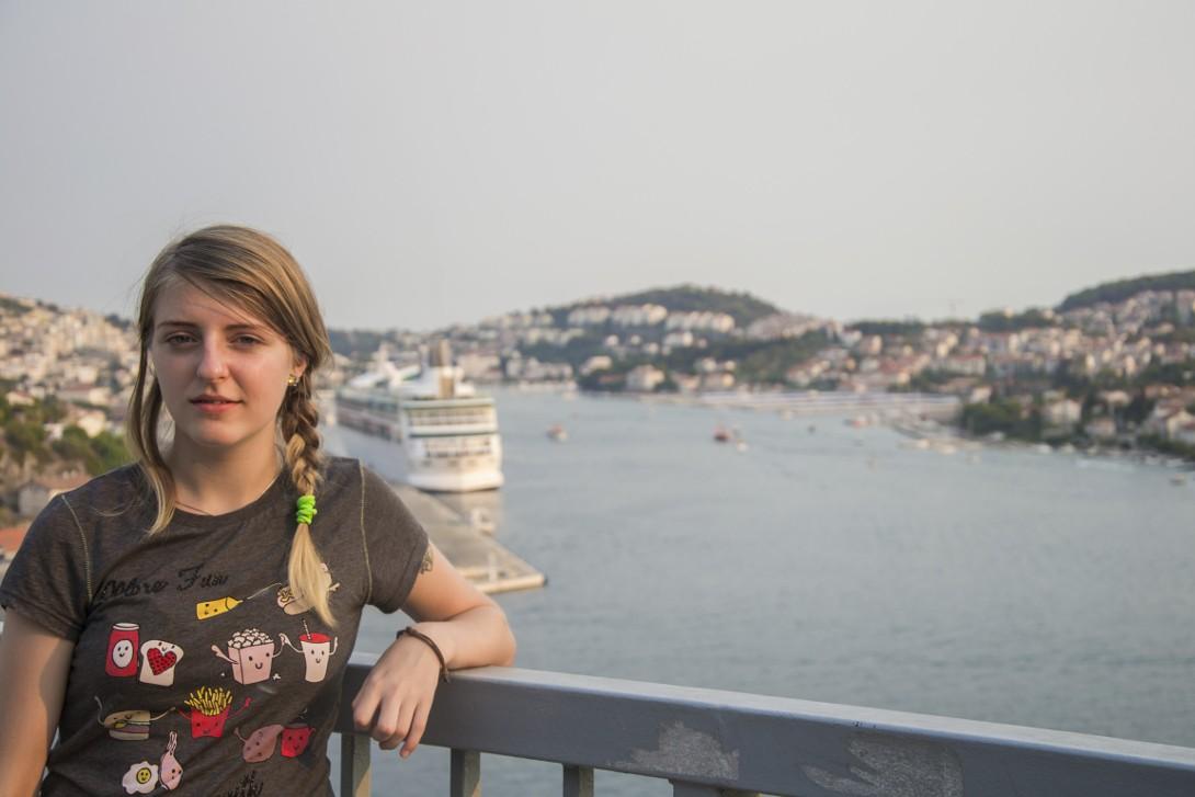 Natalia w Dubrovniku