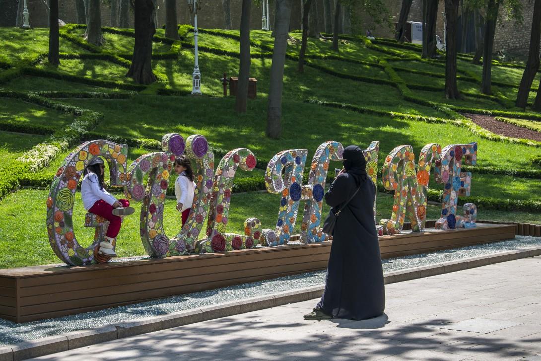Park Gülhane w Stambule