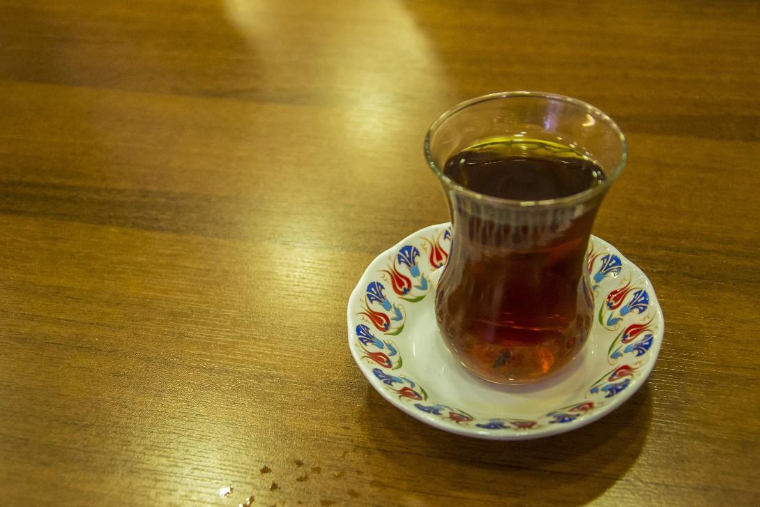 Turecka herbata w Stambule