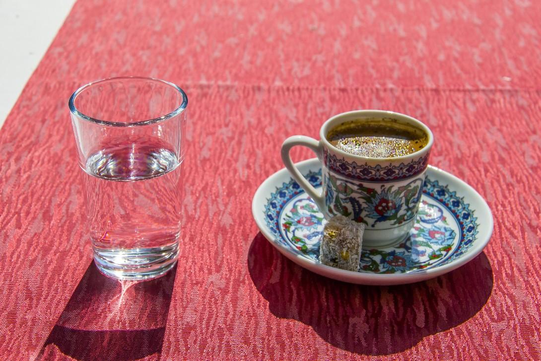 Kawa turecka w Stambule
