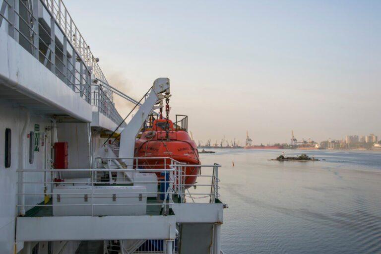 Statek Kaunas Seeways w porcie Czarnomorsk