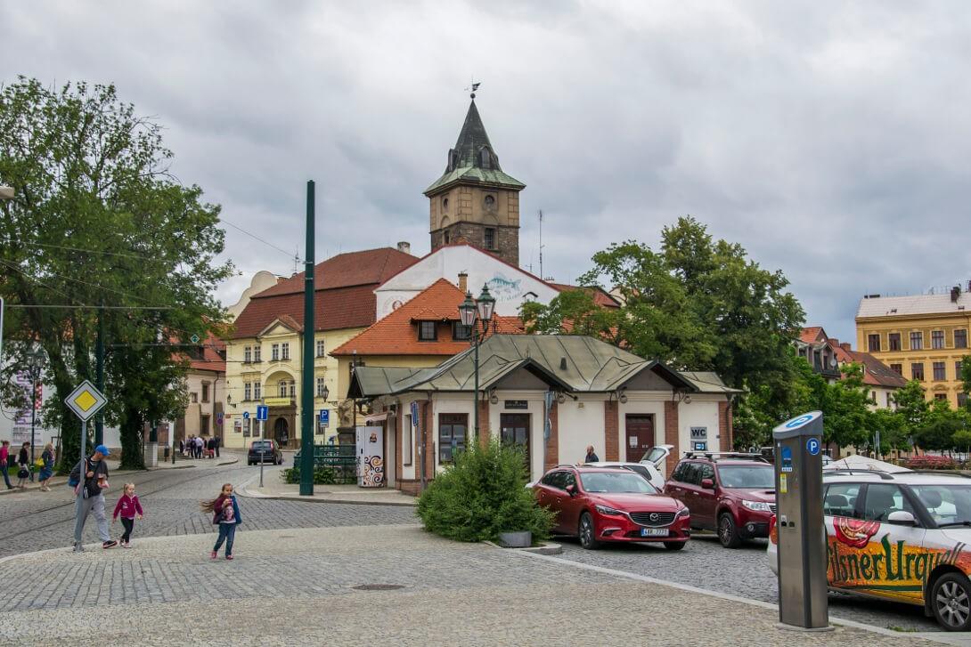 Zabudowa Starego Miasta - Pilzno