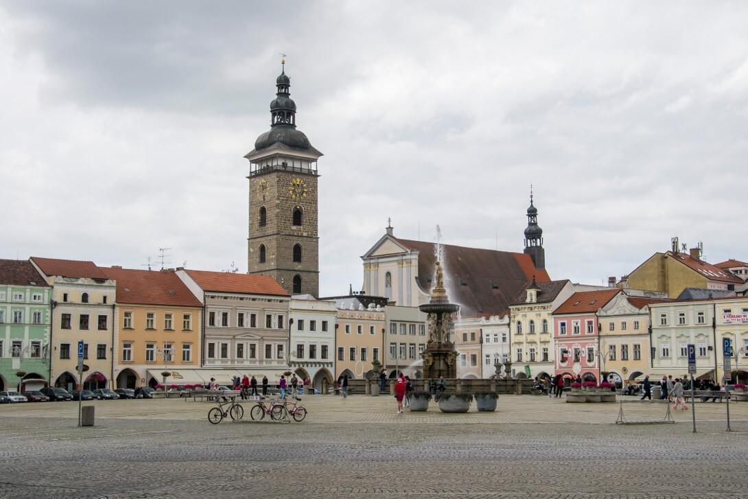 Rynek (plac Ottokara) - Czeskie Budziejowice