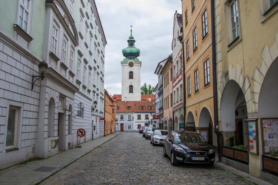 Uliczki Starego Miasta - Czeskie Budziejowice