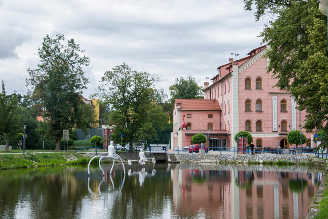 Zwiedzanie Czeskich Budziejowic