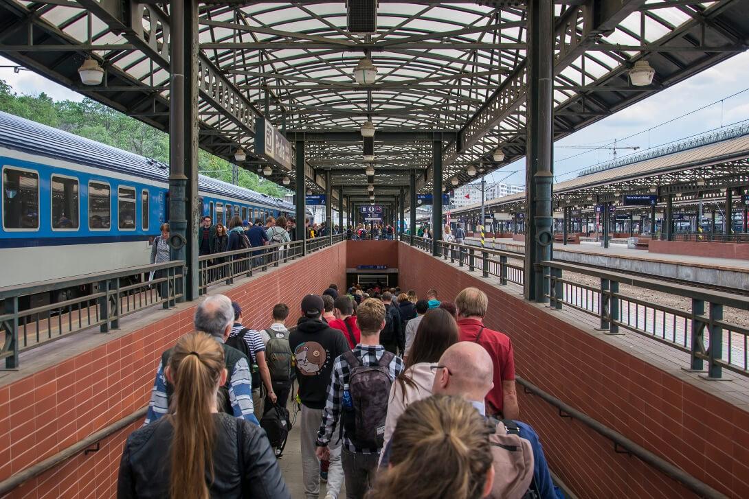 Stacja kolejowa Praha hl.n.