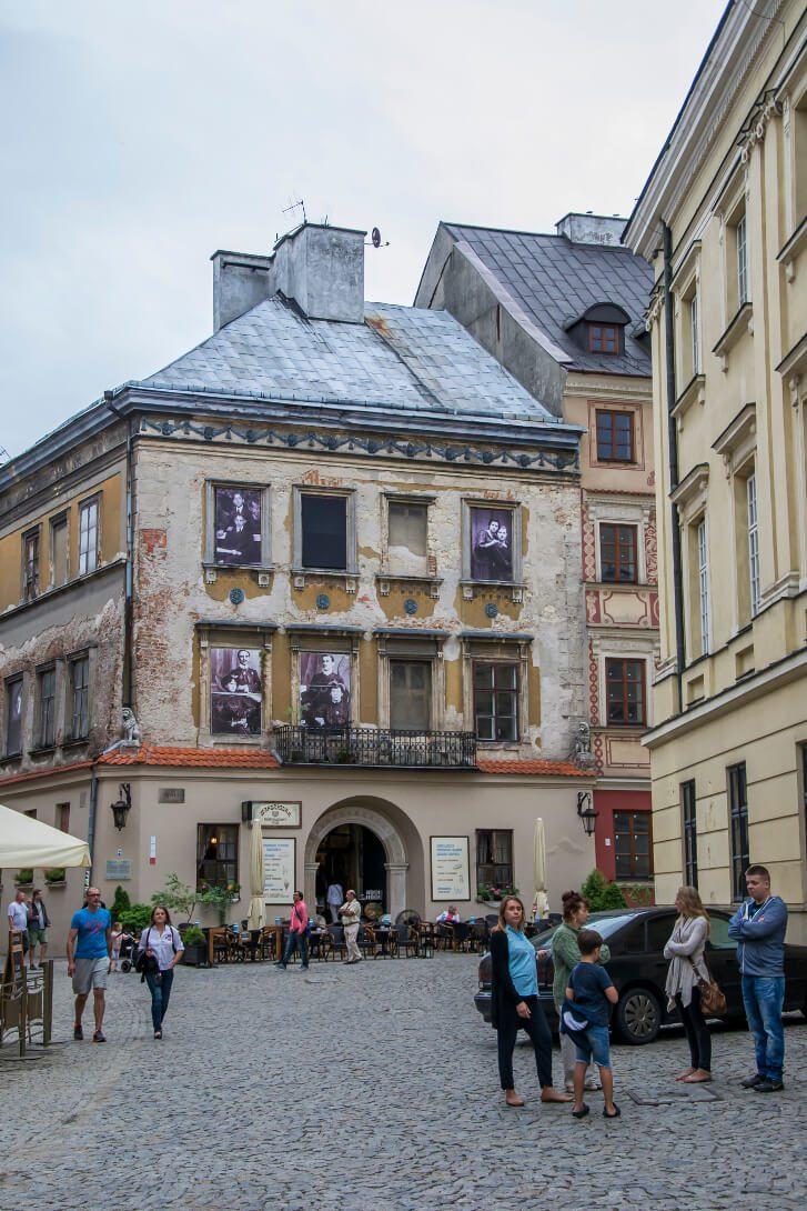 Kamienica z restauracją Mandragora w Lublinie