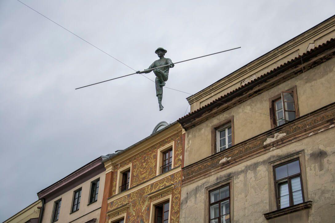 Sztukmistrz z Lublina na Rynku
