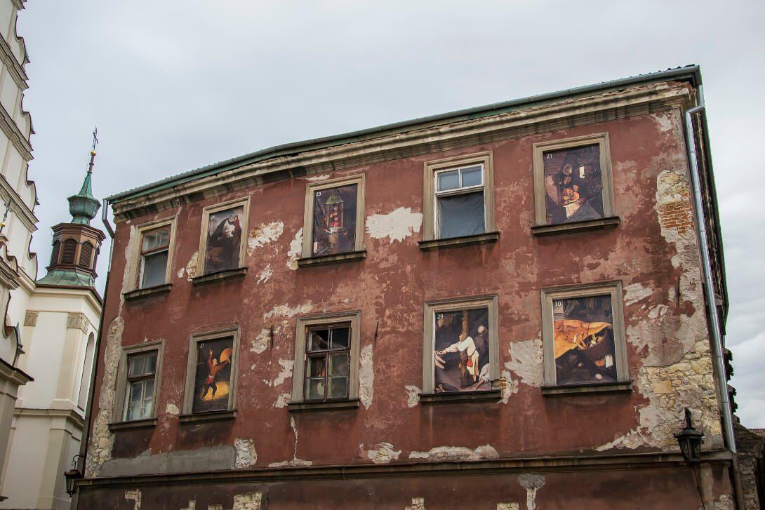 Kamienice Starego Miasta w Lublinie