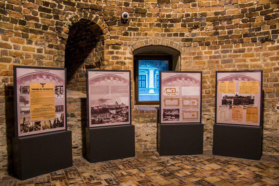 Wystawa w donżonie Zamku Lubelskiego w Lublinie