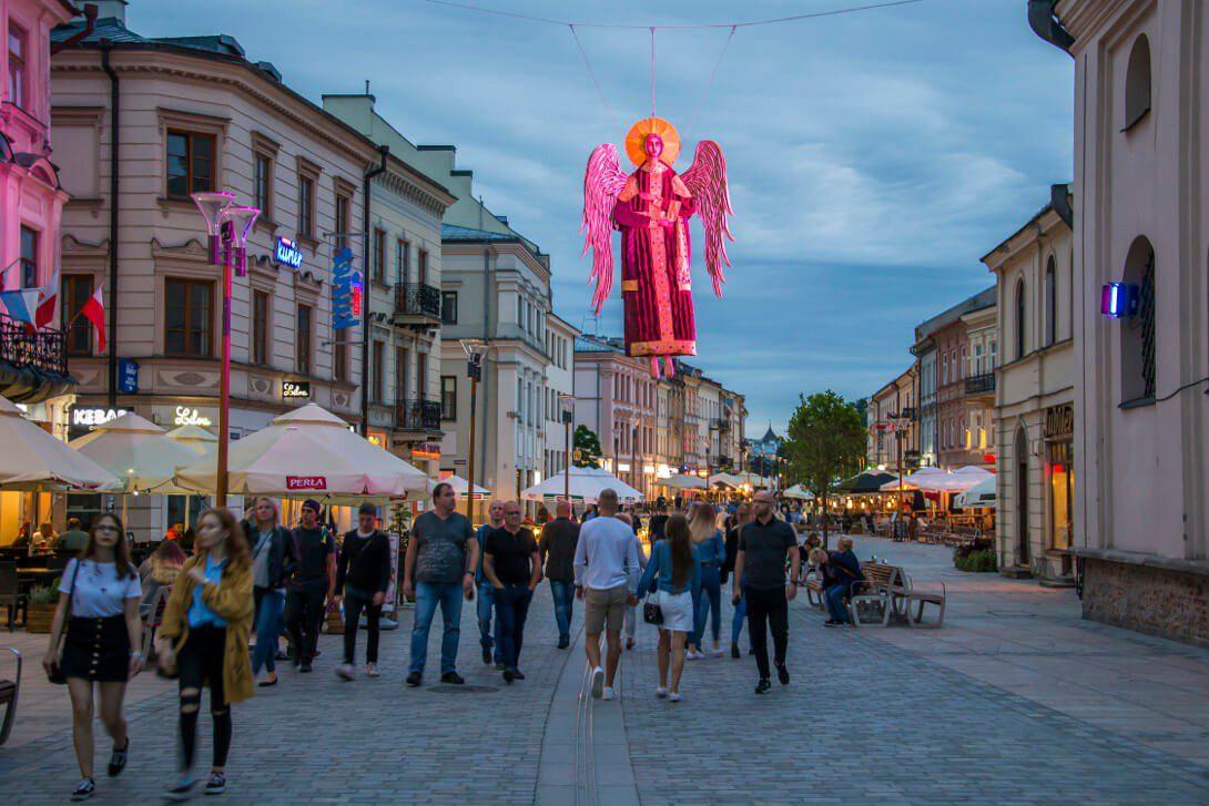 Ulica Krakowskie Przedmieście w Lublinie