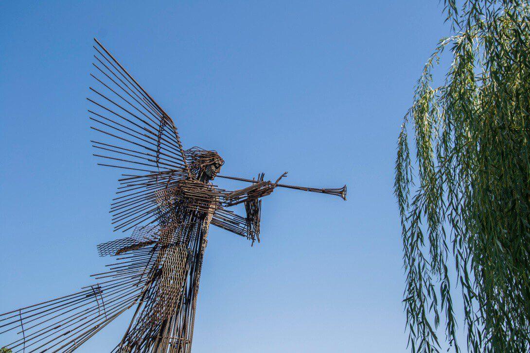 Pomnik Trzeciego Anioła w Czarnobylu