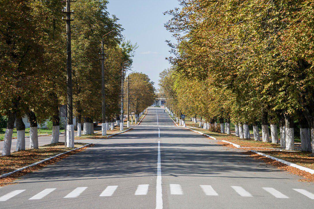 Ulica w Czarnobylu