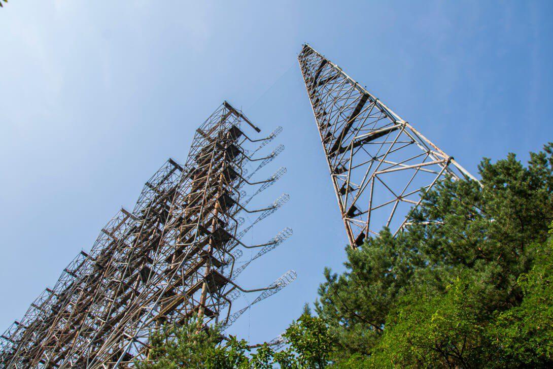 Radar Duga w mieście Czarnobyl-2