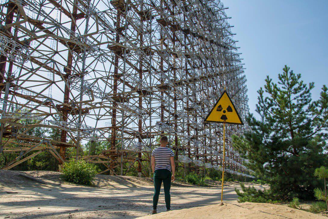 Radar Duga w Czarnobylu
