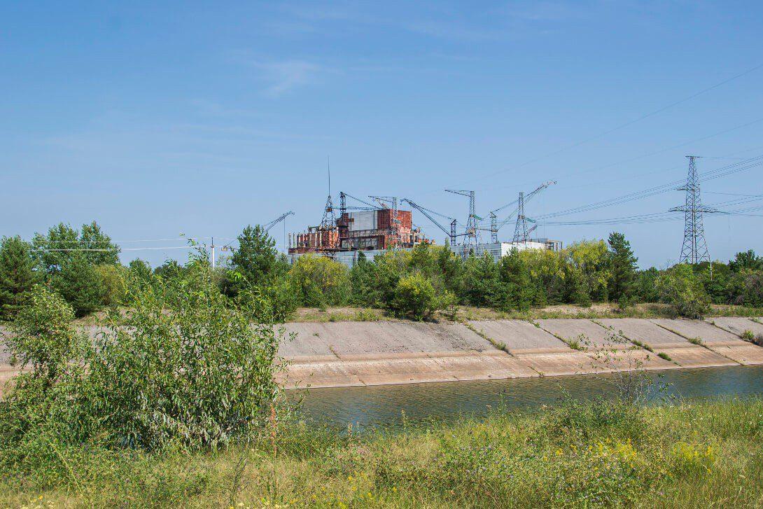 Niedokończone reaktory nr 5 i 6 Czarnobylskiej Elektrowni Atomowej