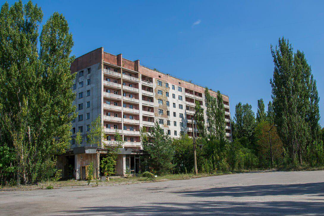 Opuszczony dom mieszkalny w Prypeci