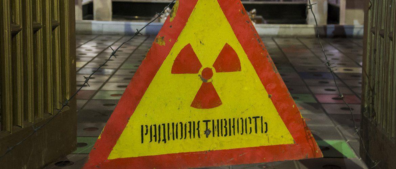 """Znak """"Promieniowanie"""" - Czarnobyl"""