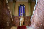 Pomnik Stalina w Muzeum Stalina w Gori