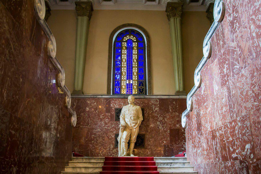 Muzeum Stalina w Gori, czyli świątynia wodza ZSRR