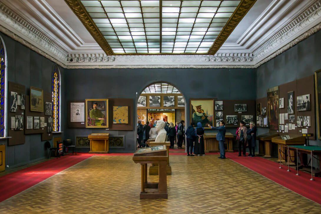 Sala w Muzeum Stalina w Gori