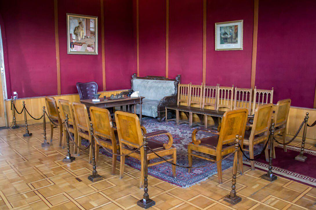 Gabinet Stalina w Muzeum Stalina w Gori