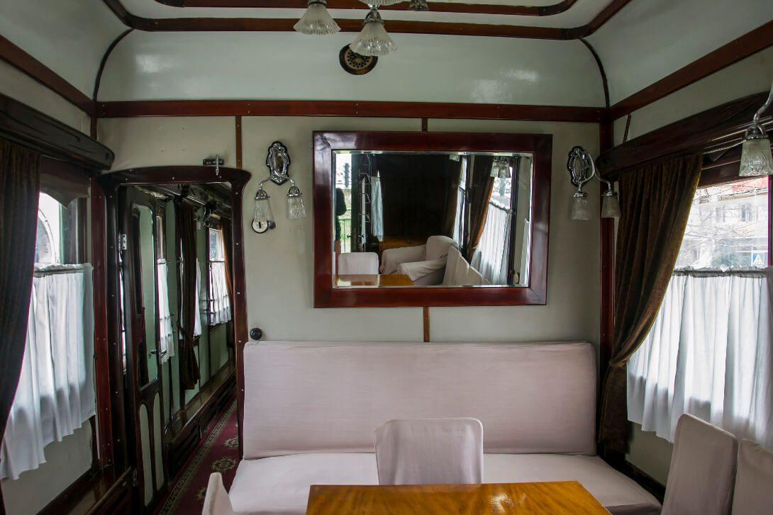 Wnętrze wagonu Stalina