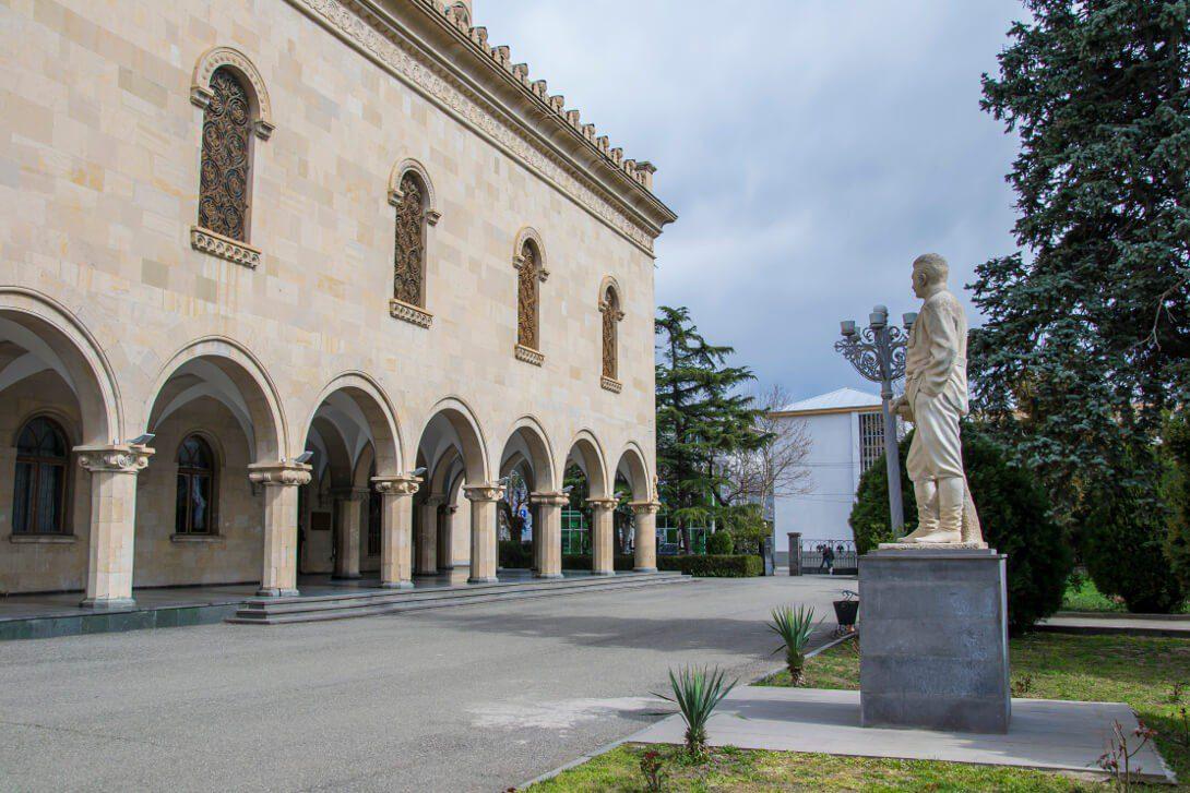 Budynek Muzeum Stalina w Gori