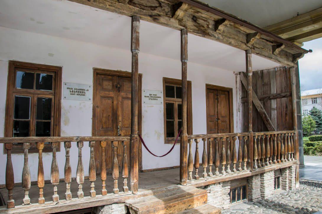 Domostwo, w którym mieszkał młody Stalin