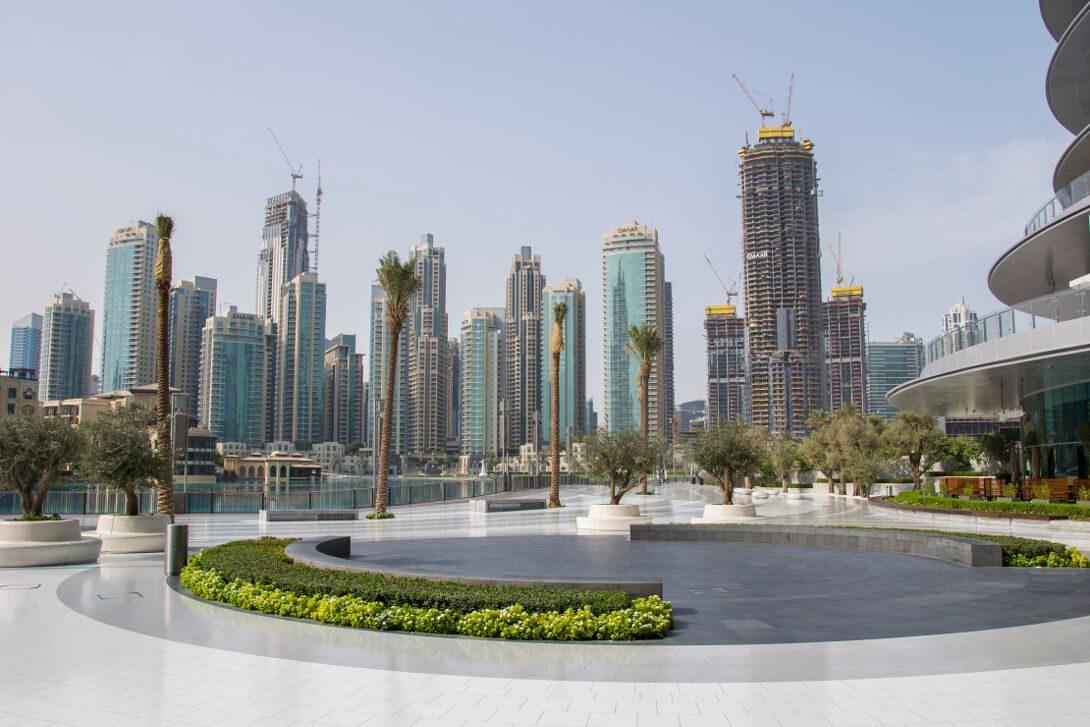 Dzielnica Downtown Dubai