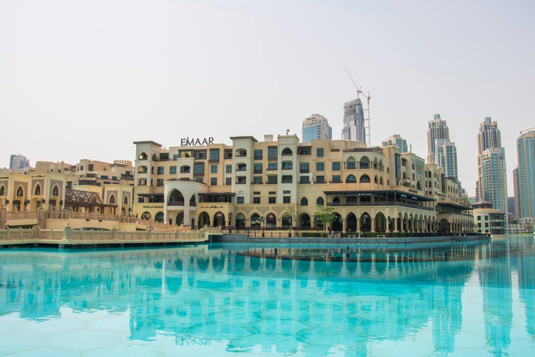 Souk Al Bahar w Dubaju
