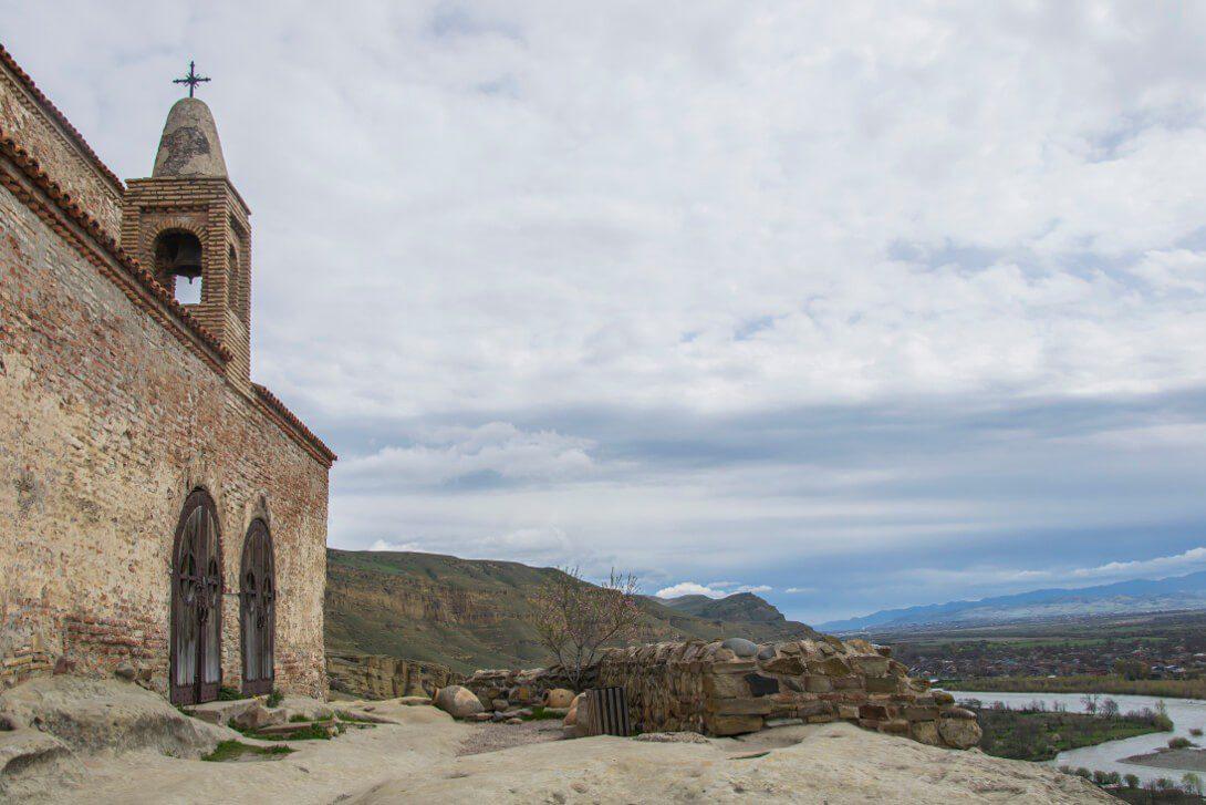 Chrześcijańska świątynia w Uplisciche