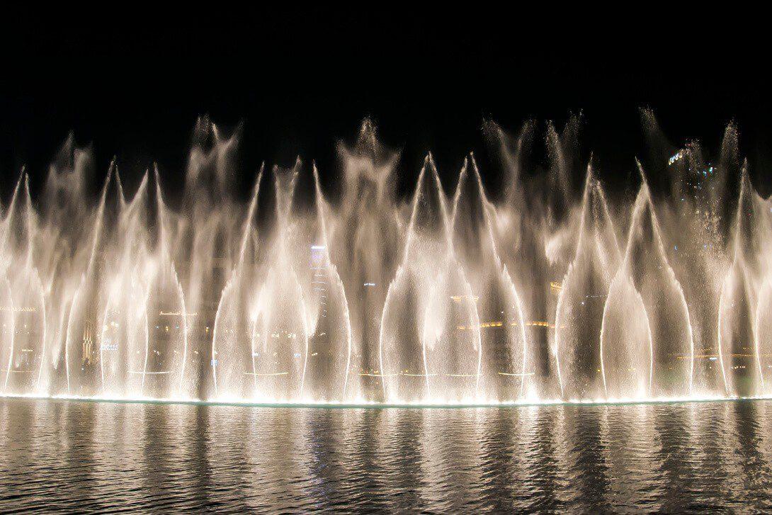 Pokaz Dubai Fountain