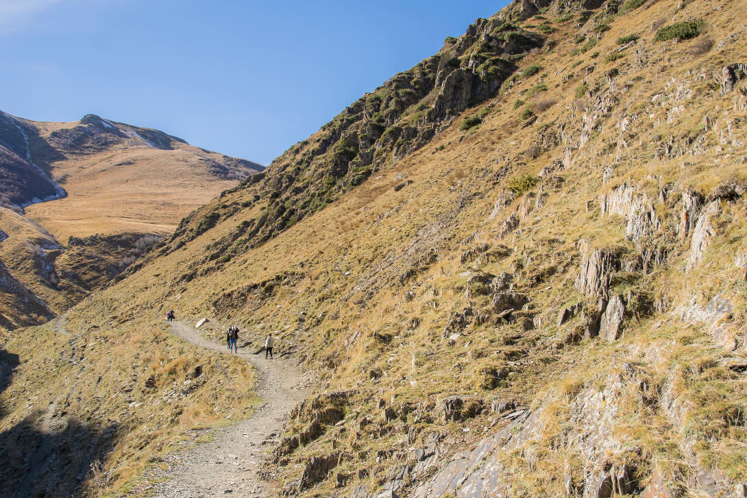 Droga do klasztoru Cminda Sameba