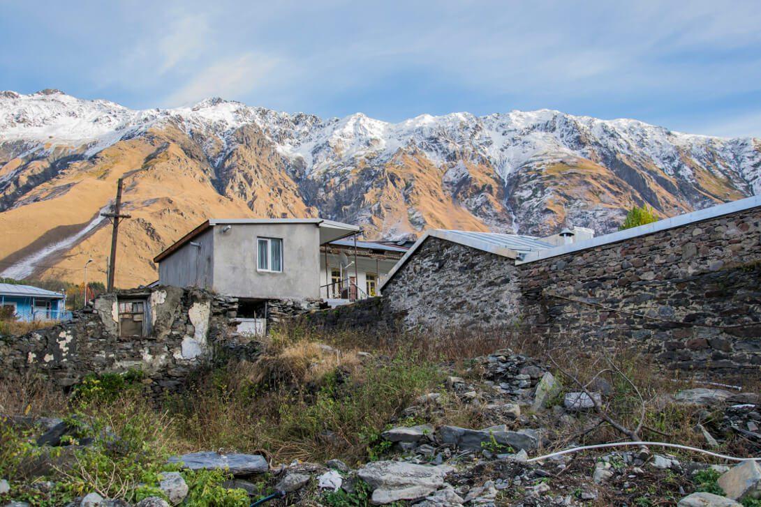 Miasto Stepancminda (Kazbegi)